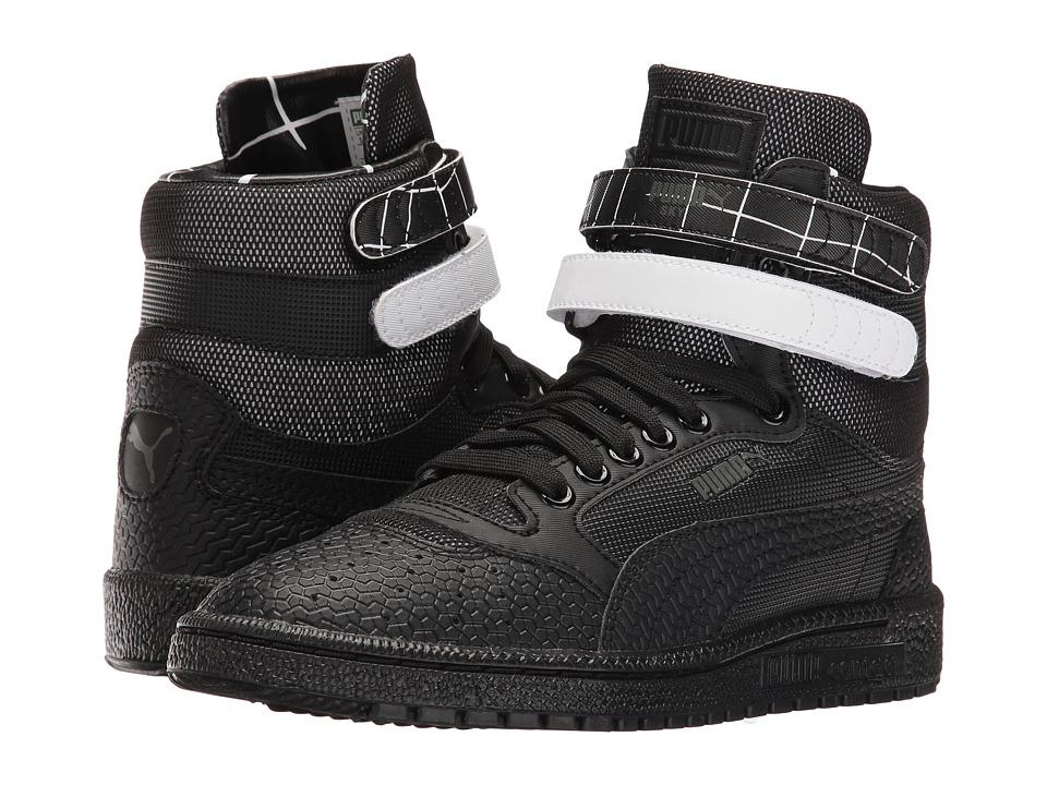 PUMA - Sky II Hi SF Texture (Black) Womens Shoes