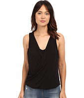 HEATHER - Twist Front Tank Top
