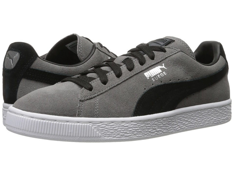 Suede Classic + (Steel Gray/Puma Black)