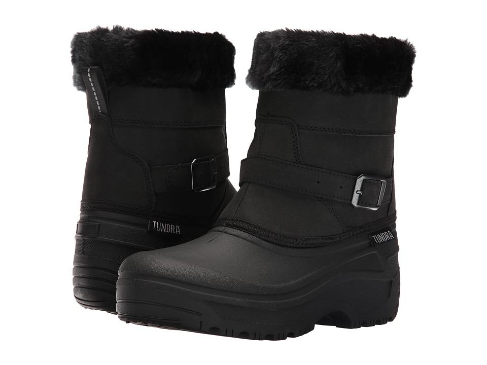 Tundra Boots - Sasy (Black) Women
