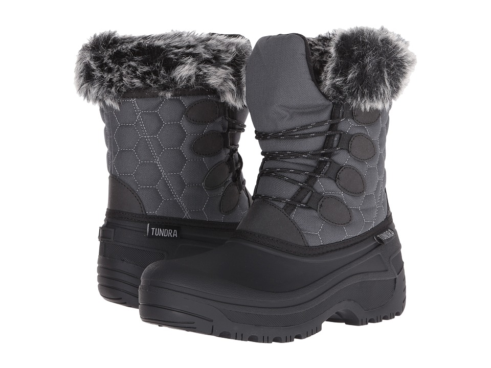 Tundra Boots Gayle (Black/Charcoal) Women