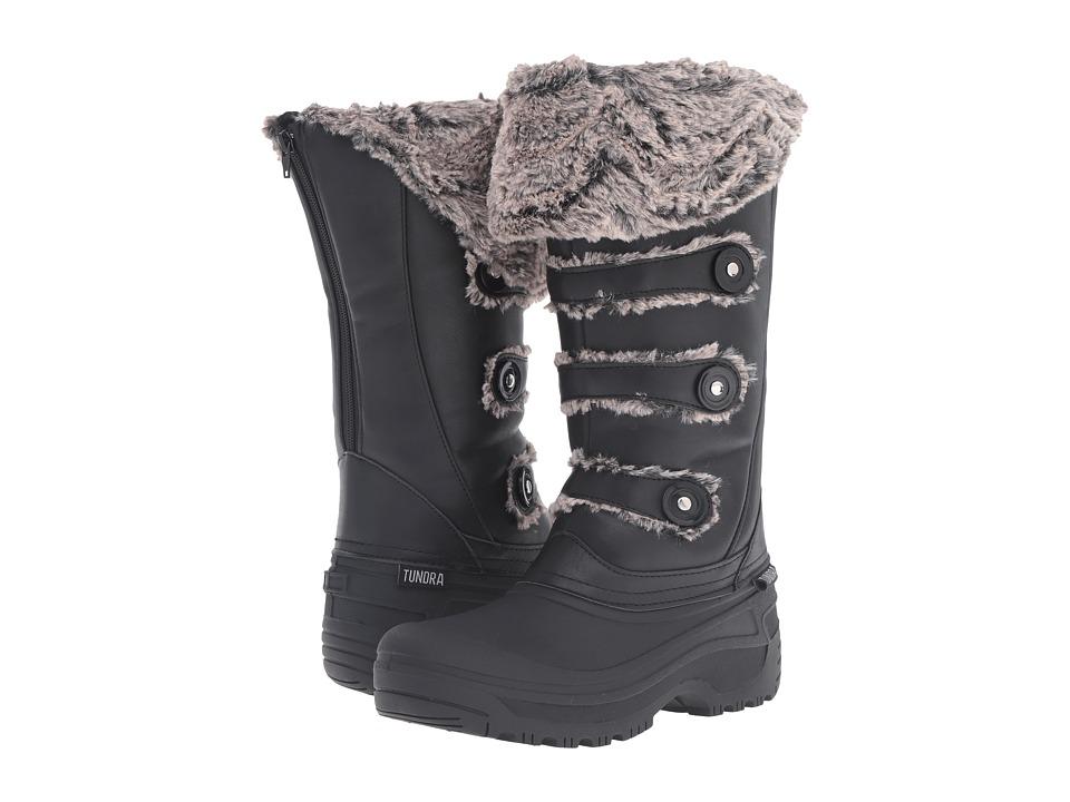 Tundra Boots - Ella (Black) Women