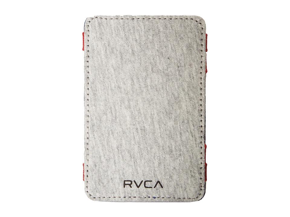 RVCA Magic Wallet Select Heather Grey Bill fold Wallet