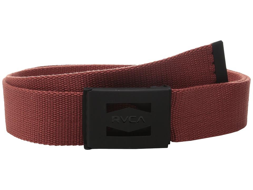 RVCA Hayes Scout Belt II Cinabar Mens Belts