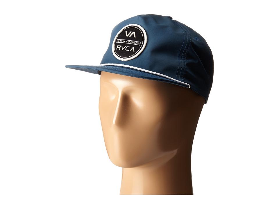 RVCA Circle Type Hat Stellar Caps
