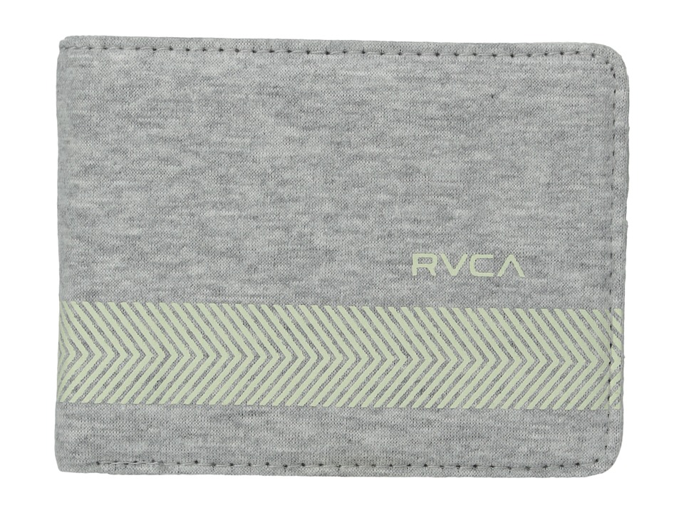 RVCA Selector Wallet Heather Grey Wallet Handbags