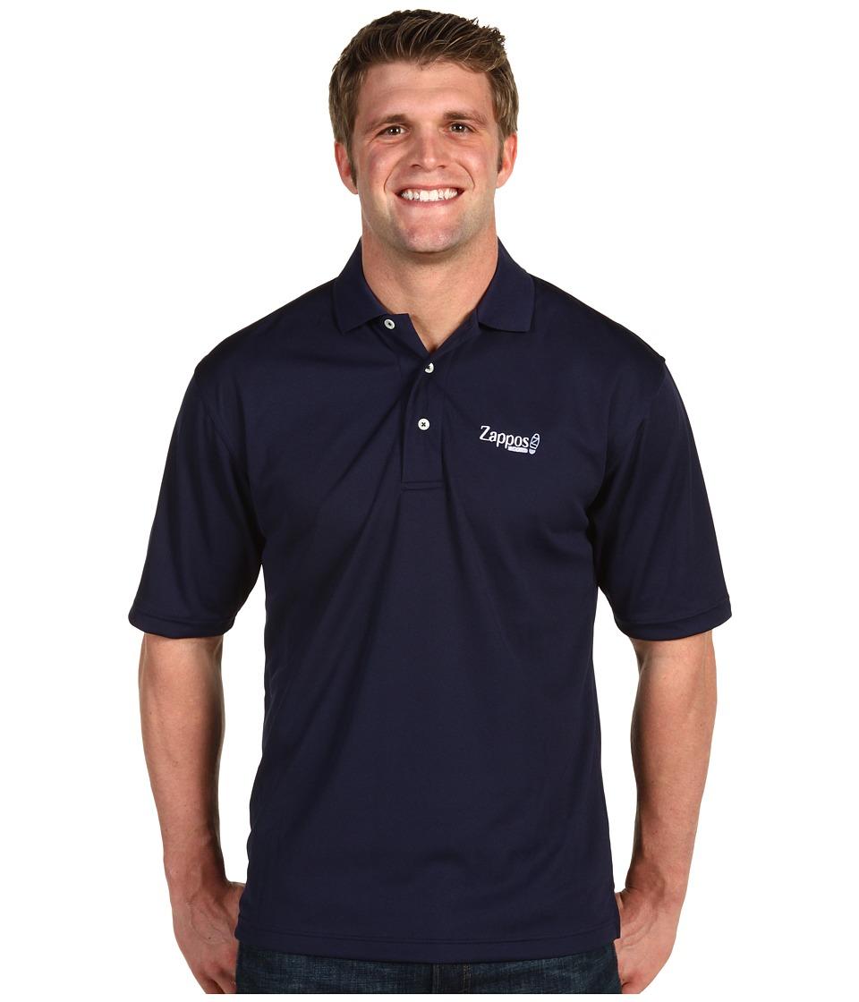 Zappos.com Gear Zappos.com Golf Shirts Navy Mens Short Sleeve Knit