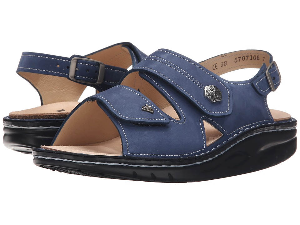 Finn Comfort Sparks Denim Womens Sandals