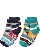 Jefferies Socks - Diamond & Stripes 2-Pack (Infant/Toddler/Little Kid/Big Kid)