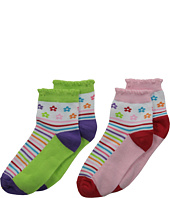 Jefferies Socks - Daisy Anklet 2-Pair Pack (Infant/Toddler/Little Kid/Big Kid)