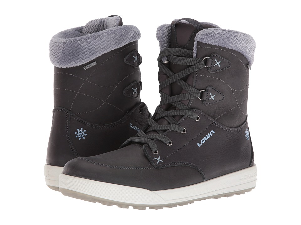 Lowa - Melrose GTX Mid (Anthracite/Blue) Womens Shoes