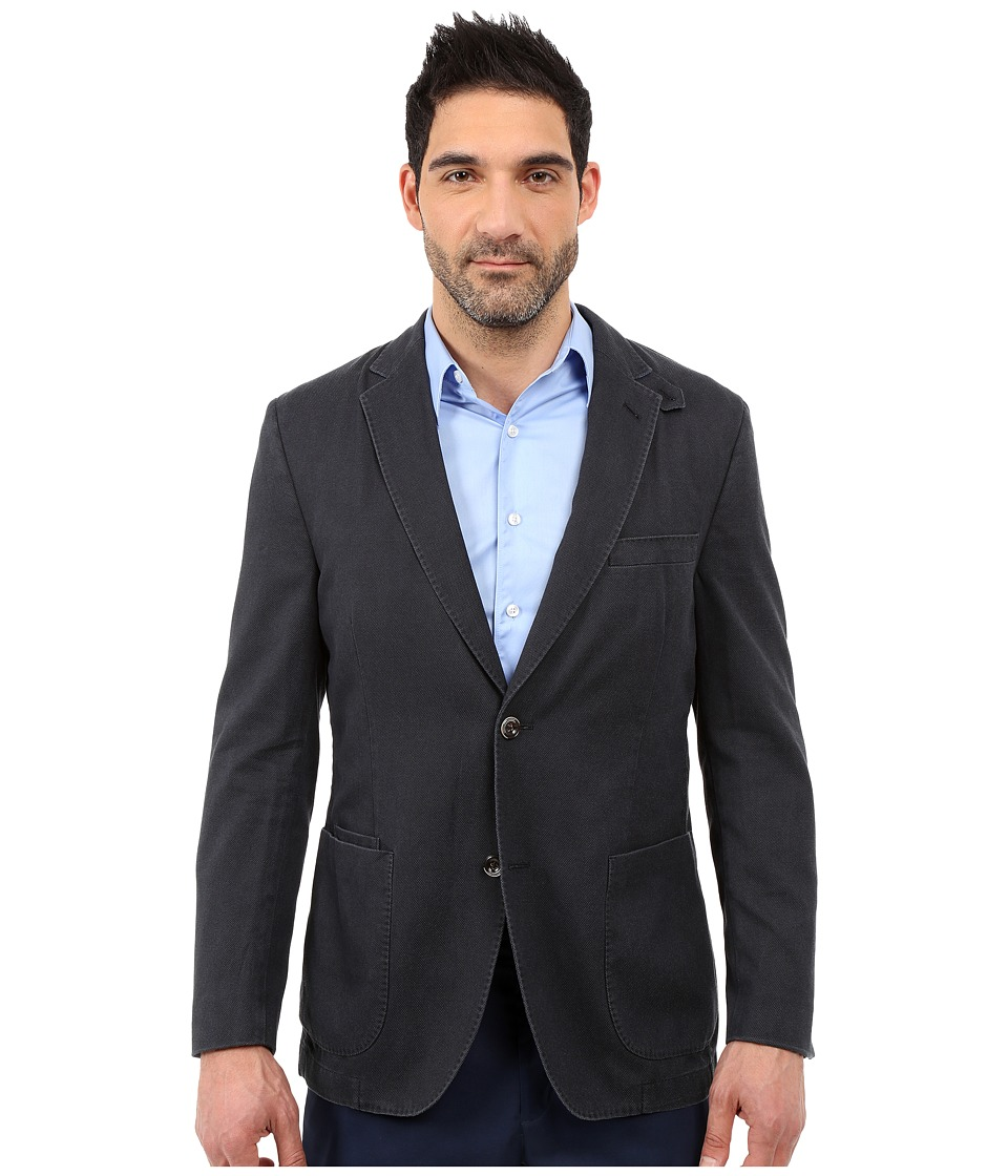 Kroon The Edge Two Button Coat Navy Mens Jacket