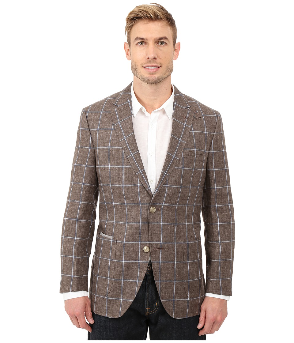 Kroon The Edge Two Button Coat Taupe Mens Jacket
