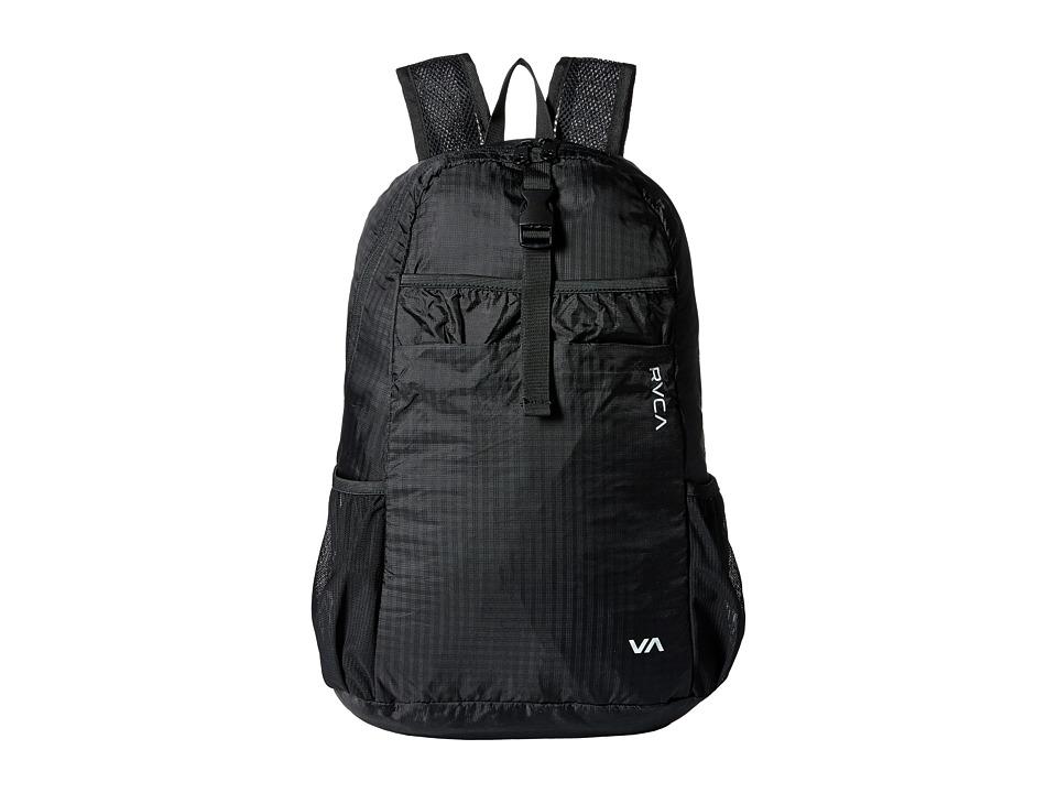 RVCA Densen Packable Backpack Black Backpack Bags