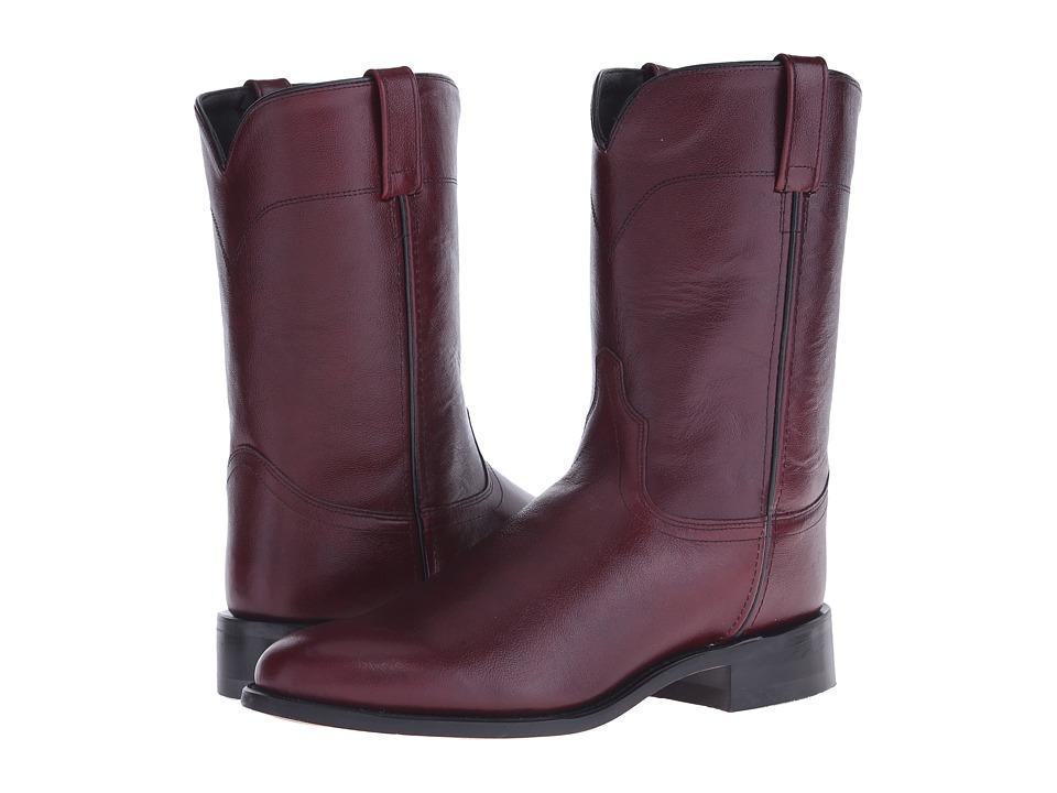 Old West Boots SRM4013 Black Cherry Cowboy Boots