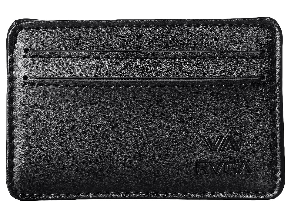RVCA Card Wallet Black Wallet Handbags