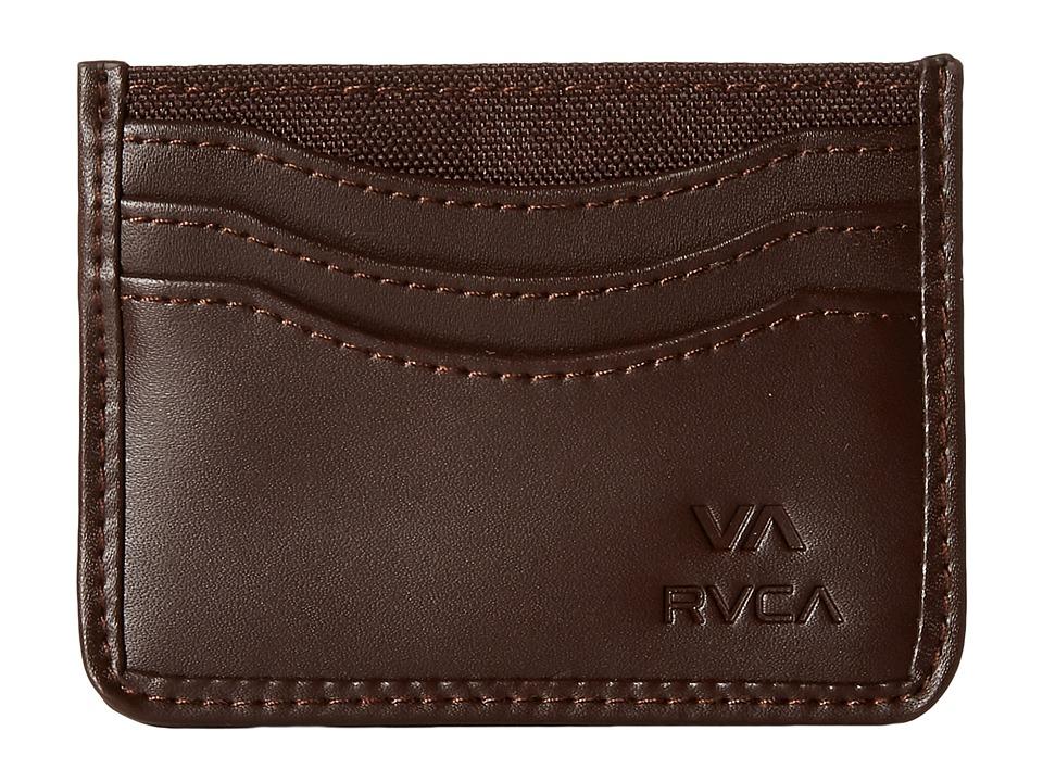 RVCA Millux Wallet Brown Wallet Handbags