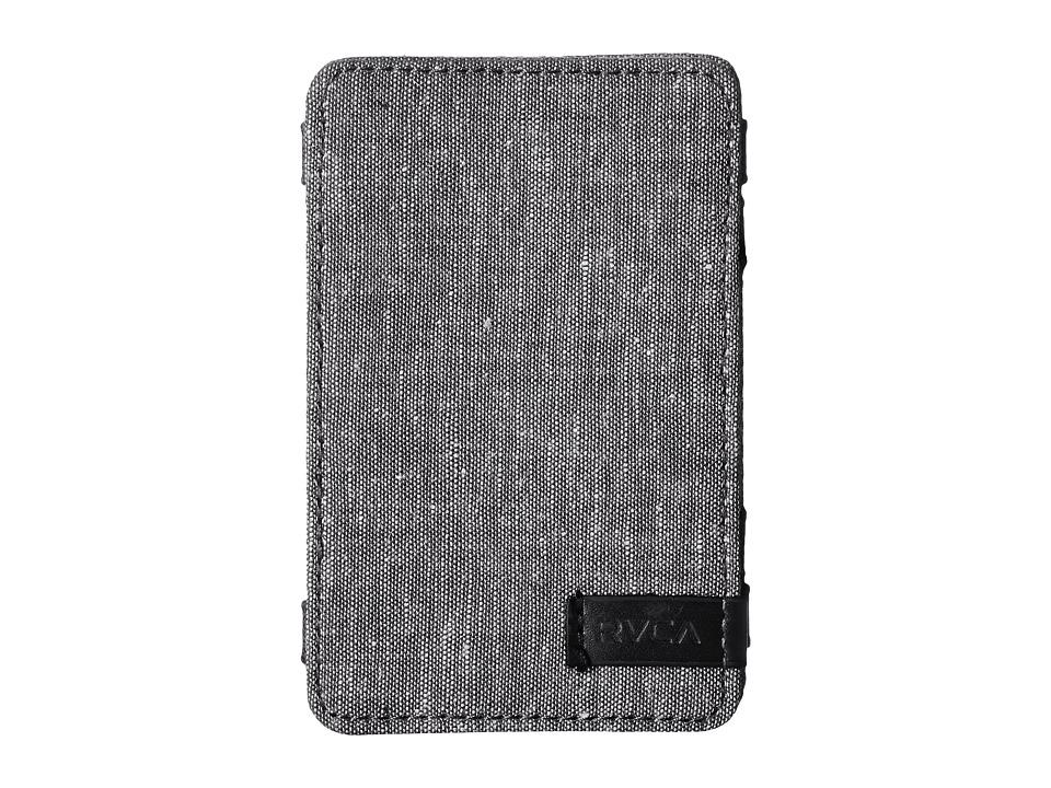 RVCA Magic Wallet III Grey Wallet Handbags