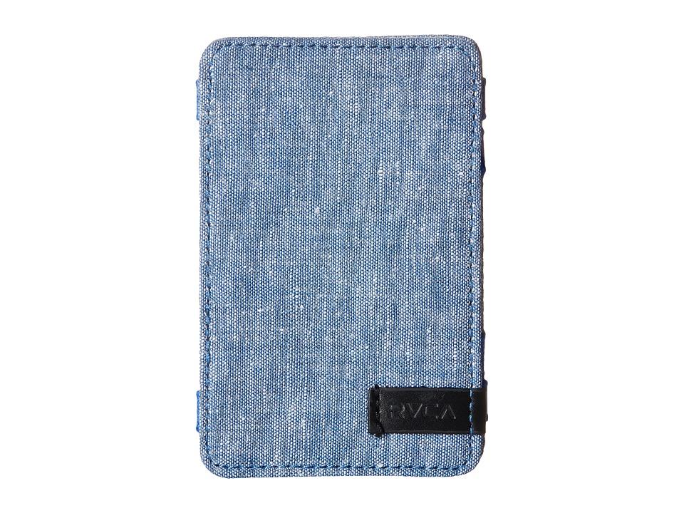 RVCA Magic Wallet III Navy Wallet Handbags