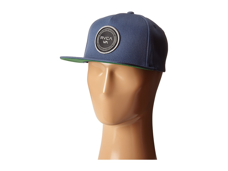 RVCA Atlantic Five Panel Sea Blue Caps
