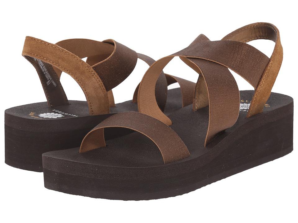 Yellow Box Bunkie Bronze Brown Womens Sandals