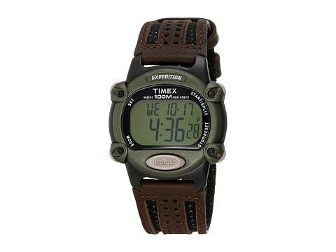 Timex Expedition Chrono Alarm Timer Full - Brown