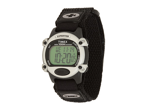 Timex Expedition Chrono Alarm Timer Full - Black/Silver