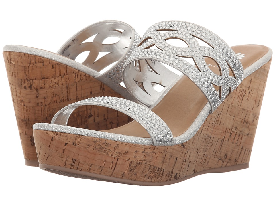 Yellow Box Camellia Silver Womens Sandals