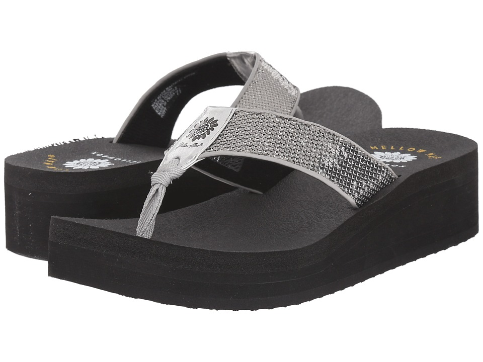 Yellow Box Guppy Gray Womens Sandals
