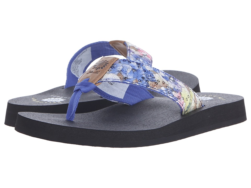 Yellow Box Imogene Blue Womens Sandals