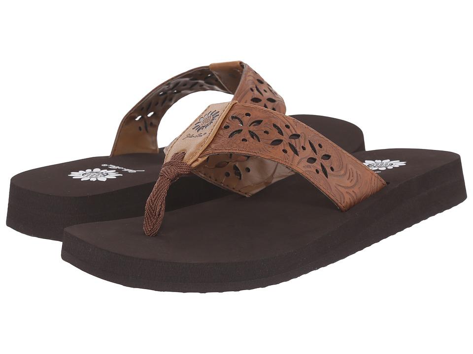 Yellow Box Damara Brown Womens Sandals