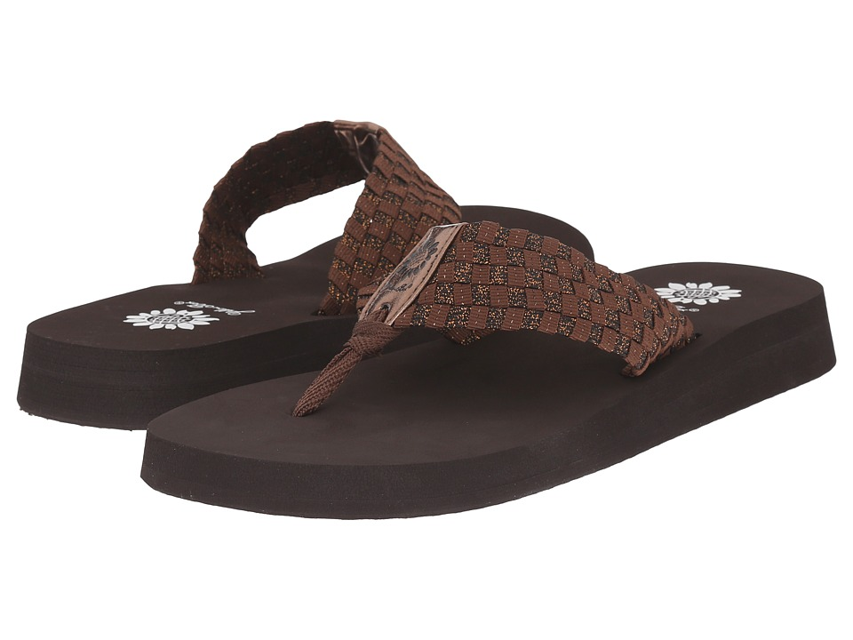Yellow Box Soleil Bronze Womens Sandals