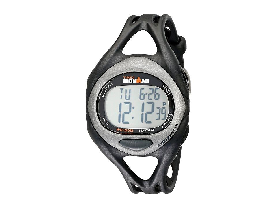 Timex Ironman(r) Triathlon Sleek 5/1 (Black) Sport Watches