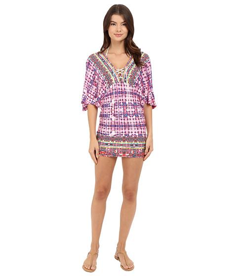 Nanette Lepore Sunset Shibori Tunic Cover-Up