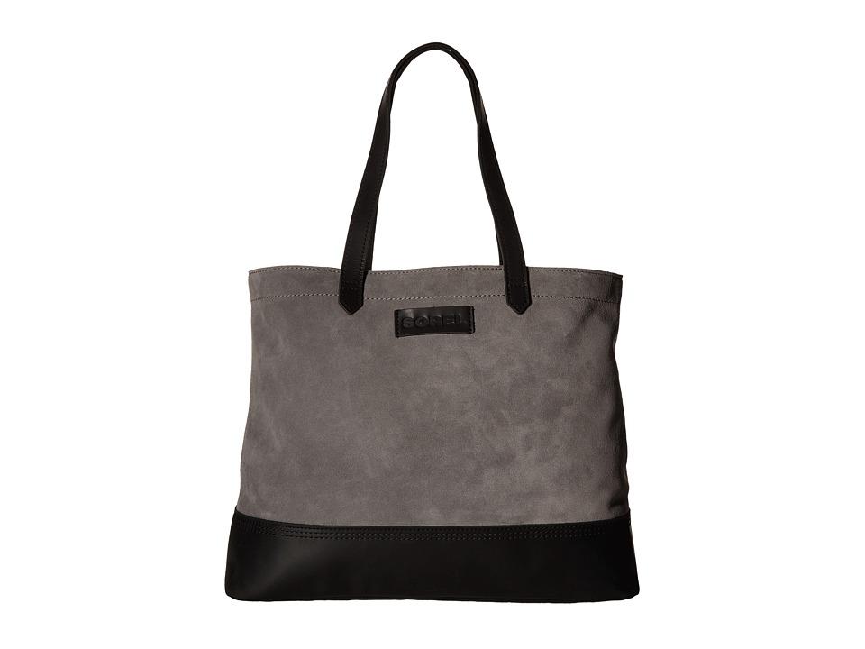 SOREL - Suede Tote (Quarry) Tote Handbags