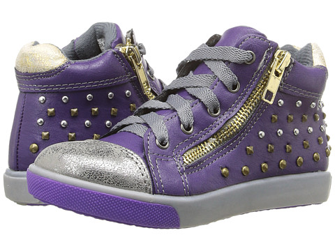 Jumping Jacks Kids Courtney Balleto (Toddler/Little Kid) - Dark Purple/Pewter