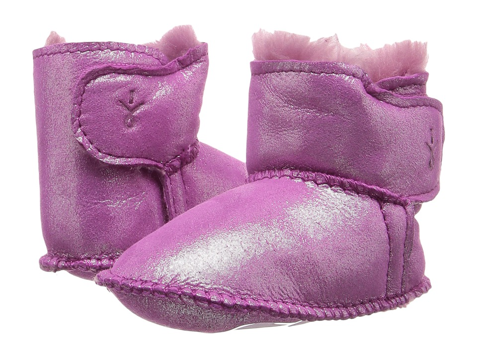 EMU Australia Kids Baby Bootie Metallic (Infant) (Hot Pink) Girls Shoes
