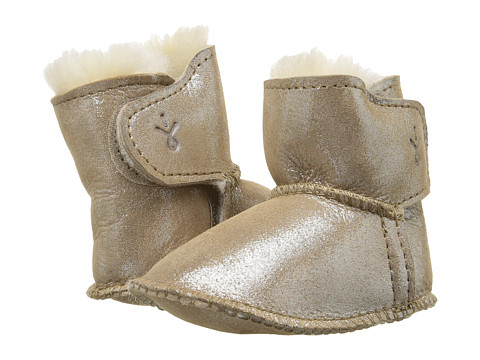 EMU Australia Kids Baby Bootie Metallic (Infant) - Sand
