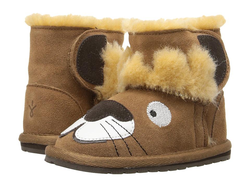 EMU Australia Kids Leo Lion Walker (Infant) (Chestnut) Kids Shoes
