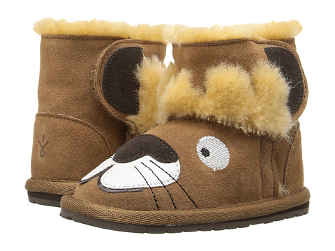 EMU Australia Kids Leo Lion Walker (Infant) - Chestnut