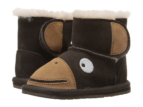 EMU Australia Kids Monkey Tail Walker (Infant) - Chocolate