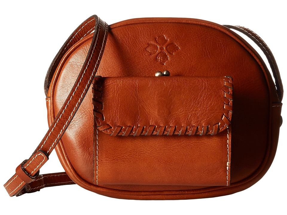 Patricia Nash - Zingari Oval Wallet Crossbody (Tan) Cross Body Handbags