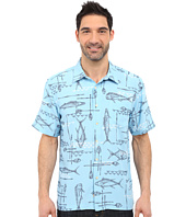 Quiksilver Waterman - Small Kine Short Sleeve Woven Shirt