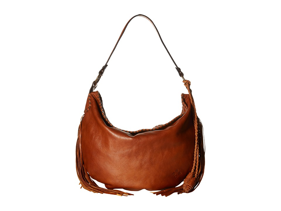 Patricia Nash - Vincenzo Slouchy Hobo (Tan) Hobo Handbags