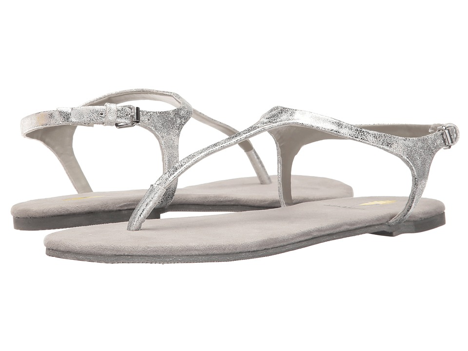 VOLATILE Baise Silver Womens Sandals