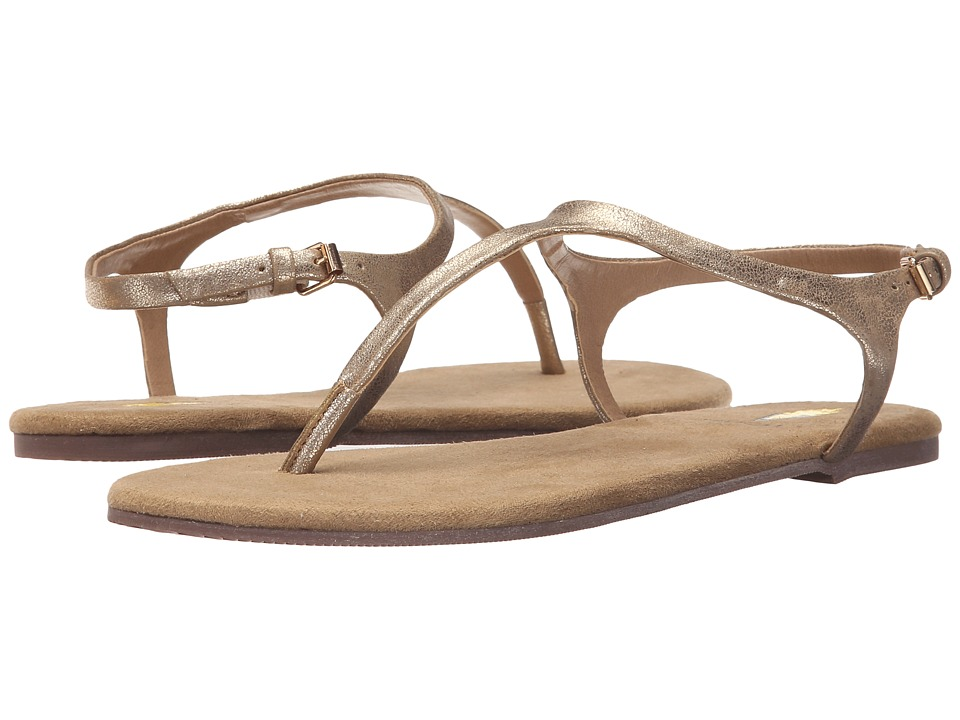 VOLATILE Baise Gold Womens Sandals