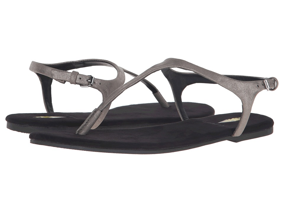 VOLATILE Baise Pewter Womens Sandals