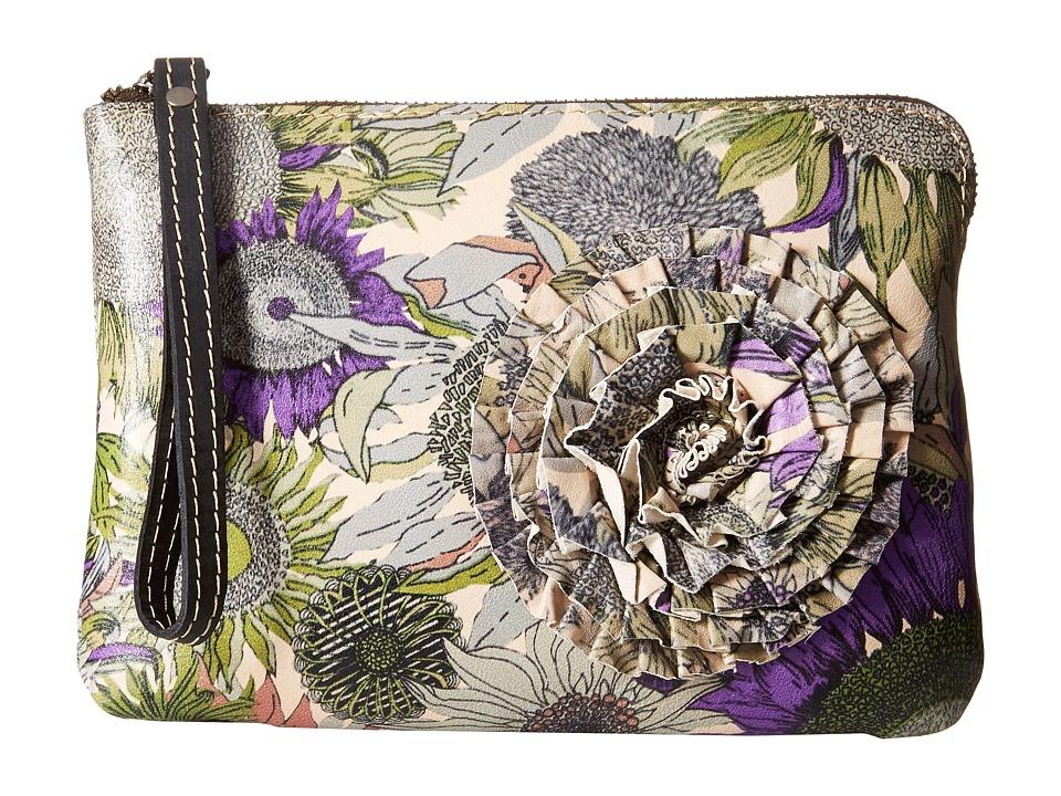 Patricia Nash Cassini Wristlet Sunflower Wristlet Handbags