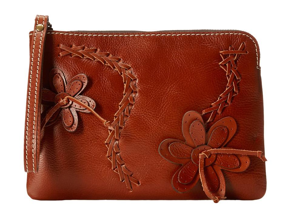 Patricia Nash Cassini Wristlet Tan Wristlet Handbags