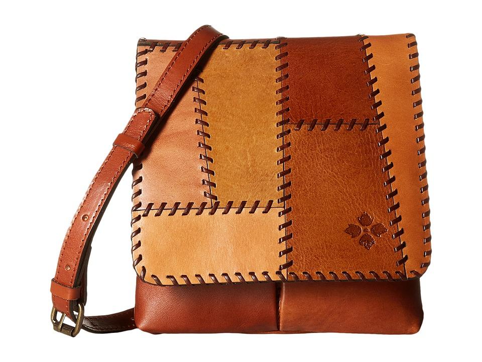 Patricia Nash - Granada Crossbody (Patchwork Tan) Cross Body Handbags